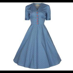 Rockabilly pinup lindy bop dress